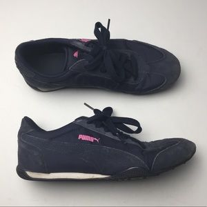 Puma Fabric & Suede Sneakers